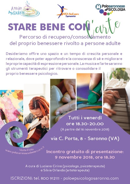 STARE BENE CON L'ARTE